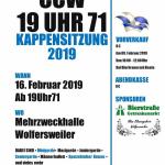 Wolfersweiler: Der Carneval Club Wolfersweiler lädt zur Kappensitzung