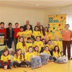 In Hasborn-Dautweiler sammeln Alt und Jung gemeinsan gegen Polio