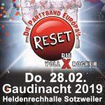 Sotzweiler: Vereinsgemeinschaft lädt ein zur Gaudinacht am fetten Donnerstag