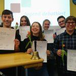 """Marpingen: Beim Schulwettbewerb """"Jugend debattiert"""" der Gemeinschaftsschule Marpingen überzeugen die Schüler mit fundiertem Wissen und Debattierkompetenz"""