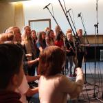 Tholey: Professionelle Studioaufnahme des Schulsongs der Pop- und Jazz AG