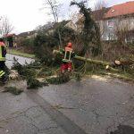 Sturm im St. Wendeler Land – Feuerwehren im Dauereinsatz