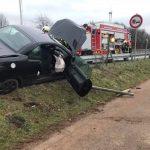 Sotzweiler: Unfall auf der A1