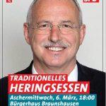 Braunshausen: Traditionelles Heringsessen der SPD Nonnweiler
