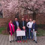 Urexweiler: Spendenübergabe an den Kindergarten