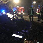 Verkehrsunfall zwischen Werschweiler und St. Wendel
