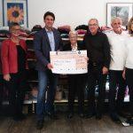 St. Wendel: Kleiderkammer der ev. Kirchengemeinde spendet 5.000 Euro für Indienhilfe Obere Nahe
