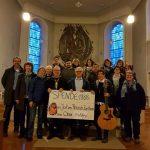 """Alsweiler: Chor Einklang konnte 1.888,- EUR an Spenden """"ersingen"""""""