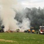 Sotzweiler und Theley: Heuballen brennen in der Nacht