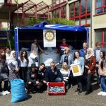 Rotary-Club Bostalsee und Berufsbildungszentrum Lebach sammeln 1 Million Deckel gegen Kinderlähmung (Polio)
