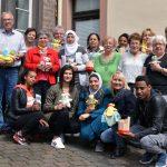 St. Wendel: JobFit-Teilnehmer überreichen Selbstgemachtes an die Kleinen Hände