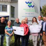 St. Wendel: Spendenübergabe der WVW an die Kleinen Hände und die KINDER-Not-Hilfe-SAAR