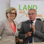 St. Wendel: Bundesministerin Julia Klöckner überzeugt sich von Land(auf)Schwung Projekten im Landkreis St. Wendel