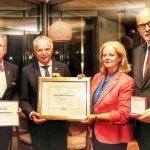 Eisen: Präsidentenwechsel im Rotaryclub Tholey-Bostalsee – Dr. Joachim Hauth löst Andrea Werner-Hauth als Rotary Clubpräsident ab