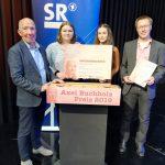 St. Wendel: Cusanus-Gymnasium erneut erfolgreich beim Axel-Buchholz-Preis
