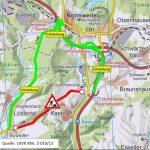 Bubach/Kastel: Gewährleistungsarbeiten auf der L 329