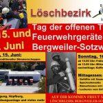 Bergweiler: Tag der offenen Tür des Löschbezirks Bergweiler/Sotzweiler