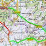 Sanierung der B 41 zwischen Wolfersweiler und Nohfelden – mehrwöchige Vollsperrung