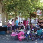 St. Wendel: 4. Kinderflohmarkt auf dem Schlossplatz