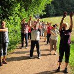 Meditative Wanderungen an besonderen Orten