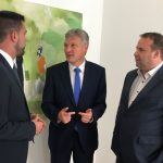 St. Wendel/Saarbrücken: Übergabe der Petition an Landtagspräsident Stephan Toscani