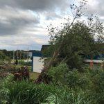 Landkreis St. Wendel: Gewitter zogen über den Landkreis