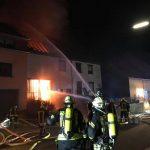 Grügelborn: Wohnhausbrand – Stellvertretender Wehrführer handelt schnell und hilft Bewohnern das Haus zu verlassen