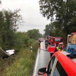 Remmesweiler: 24-Jähriger überschlägt sich auf Landstraße
