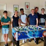 St. Wendel: Rotaract Club St. Wendel spendet Tischkicker an Jugendhilfe der Stiftung Hospital St. Wendel