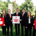 St. Wendel: Zukunftsorientierte Ausbildung mit Perspektive in der Region – Sparkasse begrüßt neun neue Auszubildende