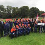 Grügelborn/Sotzweiler: Bundeswettbewerb der Deutschen Jugendfeuerwehren in Xanten