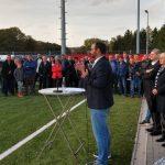Hasborn-Dautweiler: neuer Kunstrasenplatz feierlich eingeweiht