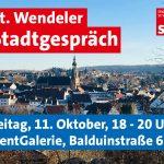 St. Wendel: SPD lädt zum Stadtgespräch ein