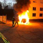 Braunshausen: PKW-Brand am Sonntag
