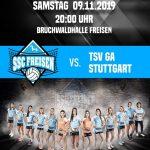 Freisen: Die Schwaben kommen – SSC Freisen empfängt den TSV GA Stuttgart
