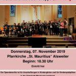 """Alsweiler: Chor """"EinKlang"""" lädt zum Friedenskonzert in die Pfarrkirche St. Mauritius"""