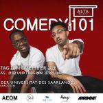 St. Wendel/Saarbrücken: Comedy 101 geht in die nächste Runde