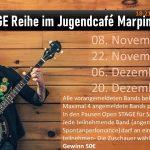 Marpingen: Open Stage Reihe im Jugendcafé beginnt morgen