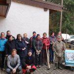 """Winterbach: Bürgerinitiative gibt dem Wald wieder eine Stimme – Aufräumaktion der Bürgerinitiative """"Wir für den Wald"""""""