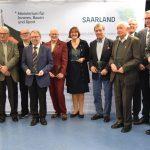 Namborn: Sportplaketten an Rolf Schreier verliehen