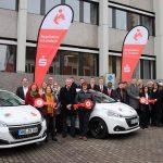 St. Wendel: Kreissparkasse und Sparverein Saarland übergeben Spendenfahrzeuge an drei wertvolle Organisationen