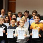 St. Wendel: Cusanus-Gymnasium lud Schüler anderer MINT-ec-Schulen zum Forschertag ein