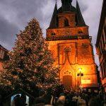 St.Wendel: Weihnachtsliedersingen auf dem Schlossplatz