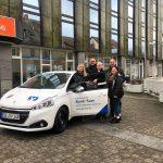 St. Wendel: Bank 1 Saar und Sparverein Saarland übergeben Spendenfahrzeug an AWO