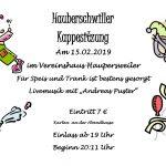 Haupersweiler: IG pro Faasenacht lädt ein zur Kappensitzung