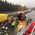 Freisen: Verkehrsunfall auf der A62
