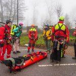 Tholey: Höhenretter trainierten am Schaumbergturm
