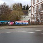 St. Wendel: Diebstahl von zwei Werbebannern – 500 Euro Belohnung für sachdienliche Hinweise