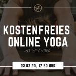 Den Kopf freimachen: YogaTrix lädt ein zur kostenlosen Online-Yoga-Session