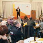 St.Wendel: CDU setzt beim Heringsessen auf Zusammenhalt und Solidarität